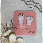 3D Babyfuß Babyhand 3D Abdrücke Baby Babycasting