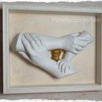 3D Familienhandabdruck Handabdruck Babyhand Handcasting Köln