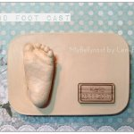 3D Fußabdruck Köln Nrw Babyabdruck Babyfuß