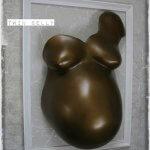 Babybauchabdruck Köln Nrw Gipsabdruck Bauchabdruck bronze Bronzeoptik antiklook