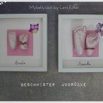 3D Handabdruck Fußabdruck Babyfuß Babyhand Köln Nrw