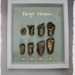 3D Abdruck Hand und Fuß Köln Babyhand Babyfuß Timelineabdrücke