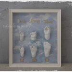 3D Timelineadruck Baby Hand und Fuß Babys erstes Jahr Köln