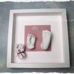 3D Handabdruck Fußabdruck Baby Babyfuß Babyhand Köln NRW