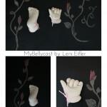 Hand und Fußabdruck Baby Mybellycast Köln
