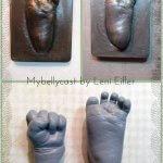 3D Handabdruck Fußabdruck Baby Köln Mybellycast Gipsabdruck Babyfuß Babyhand