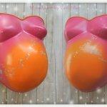 Babybauchabdruck Köln Mädchen Lampe Bauchlampe Pusteblumen