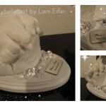 3D Abdruck Paarabdruck, Babybauchabdruck, 3D Handabbdruck, Fußabdruck,