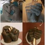 3D Handabdruck Baby Eltern Familienabdruck